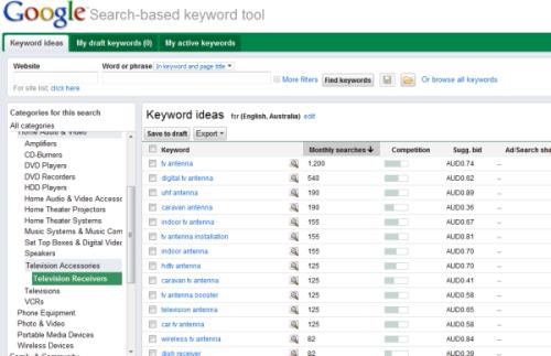googlesearchtoolcategories